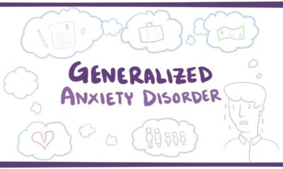 Generalized anxiety disorder linked to peptic ulcer disease